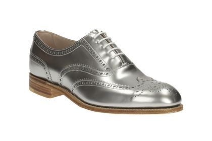 Womens Casual Shoes Isabella Carla In Silver Metallic From Clarks
