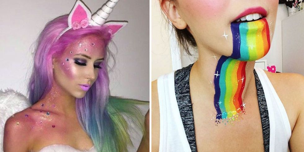 11 Makeup-Only Halloween Costumes Blowing Up On Pinterest