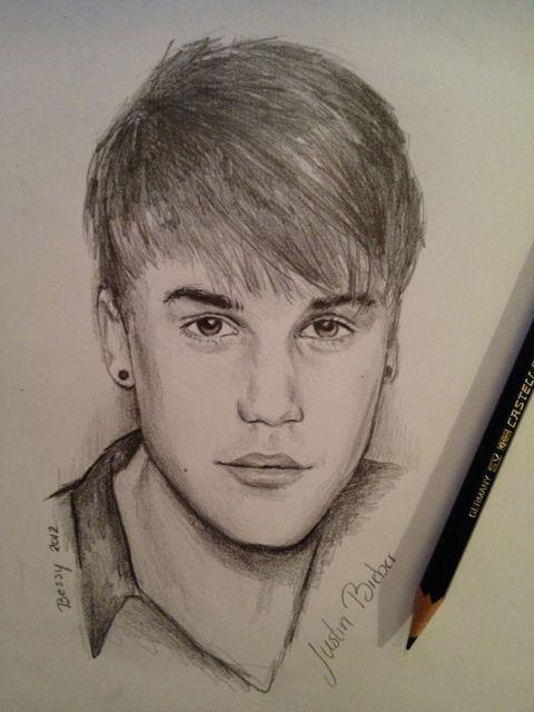 Justin Bieber Sketches Justin Bieber Sketch Justin Bieber Photos Celebrity Drawings