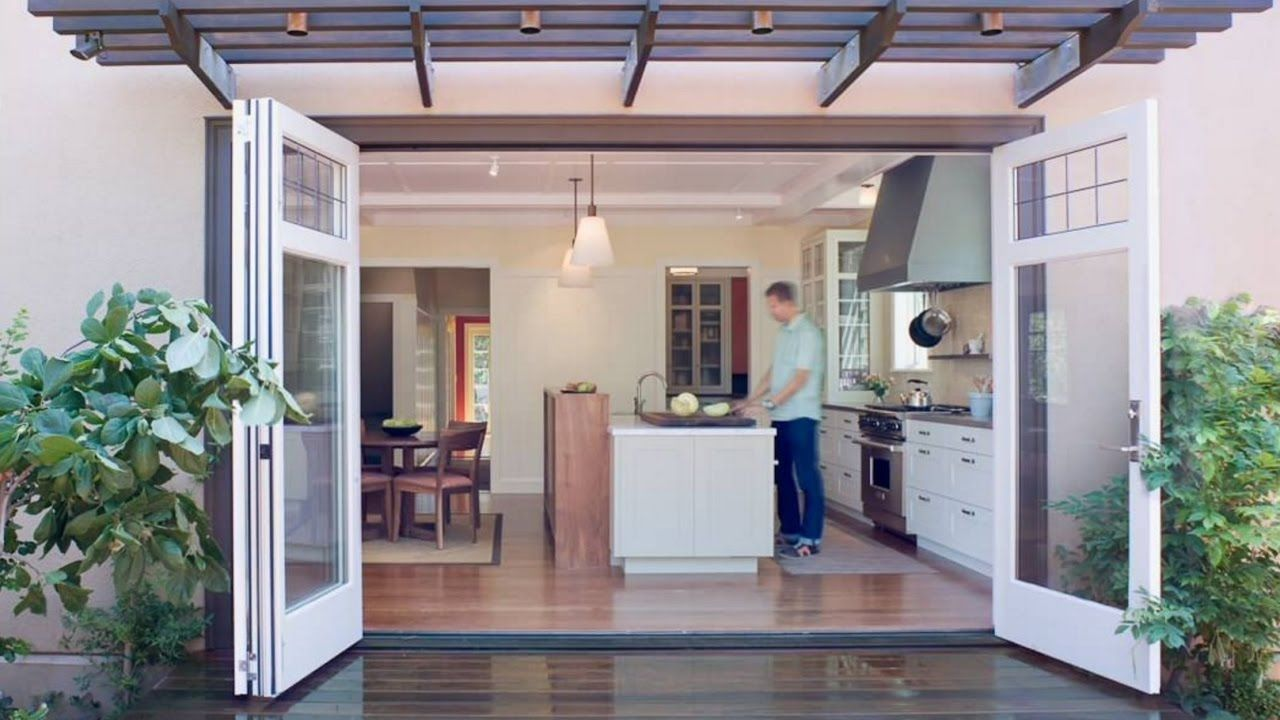 how to install french doors interior