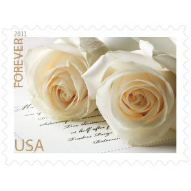 Wedding Roses Forever Stamp Usps First Day Of Issue April 21 2017
