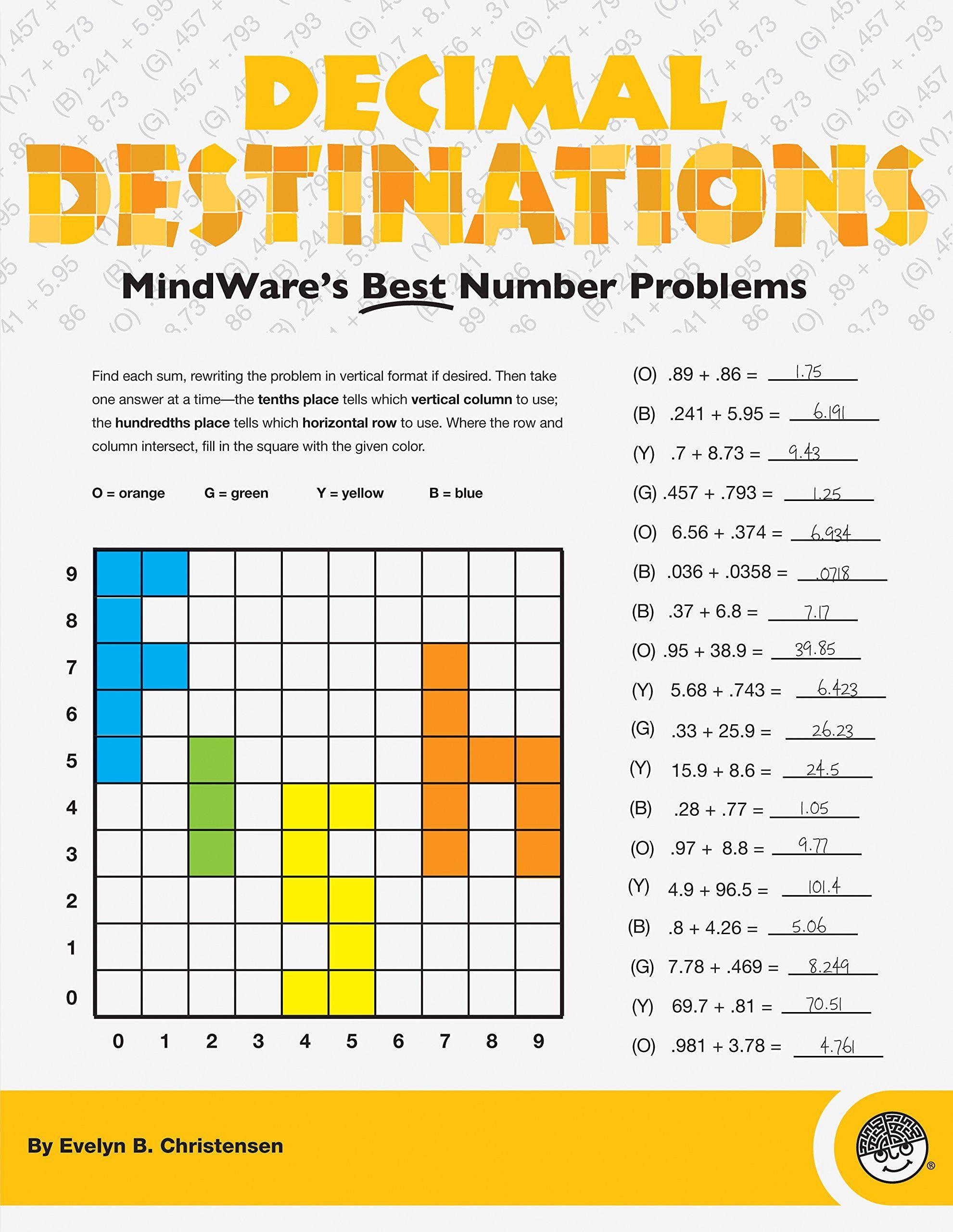 Amazon Mindware Decimal Destinations Toys Amp Games