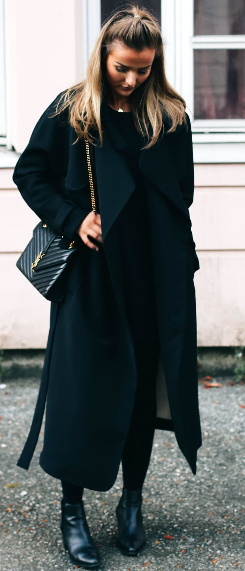 3a258ff5 Eirin Kristiansen Total Black Fall Inspo #Fashionistas | All Black ...