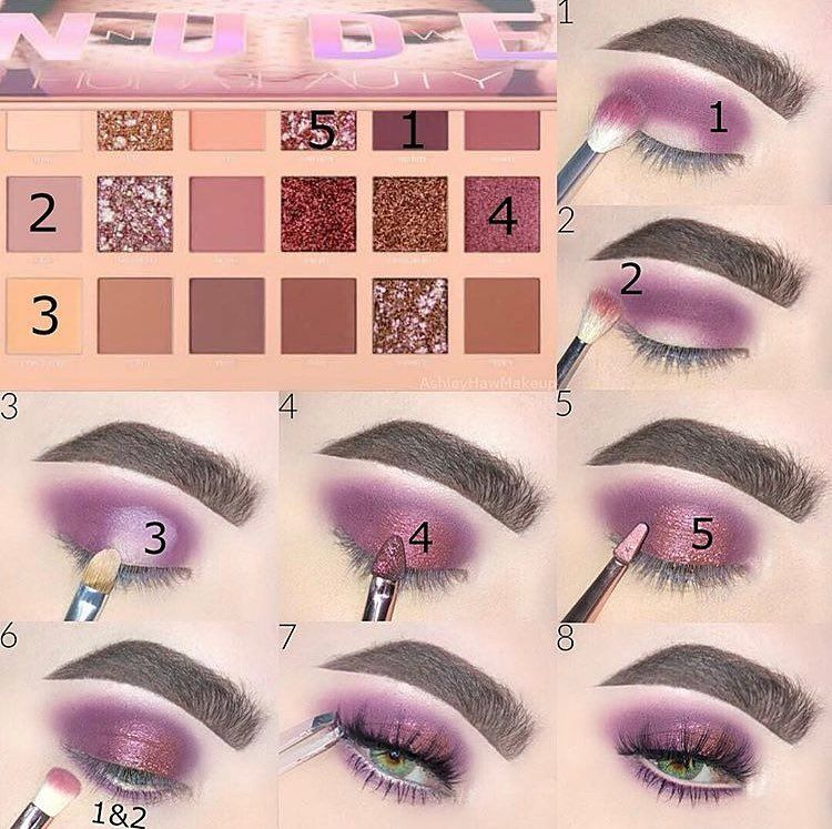 Yay Or Nay Double Tap If You This Easy Glam Follow Ashleyhawmakeup For Pinterest Makeup Eye Makeup Makeup Tutorial Eyeshadow