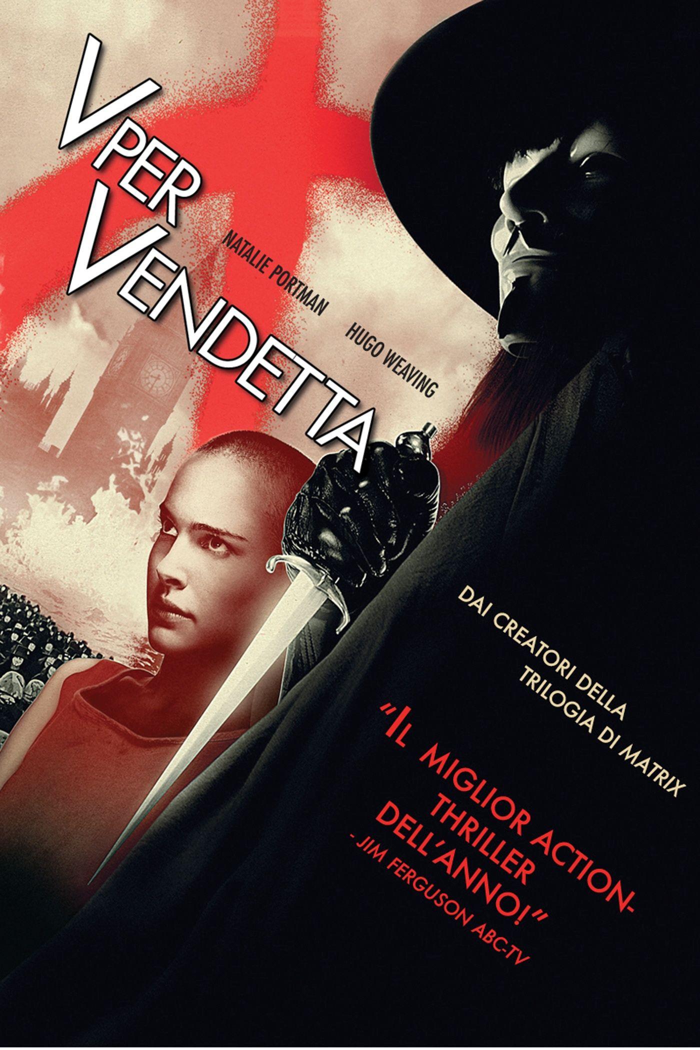V for Vendetta V per vendetta, Film, Vendetta