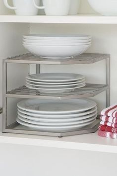 Kitchen Cabinets For Plates 33 organization products under $20 that are worth your money