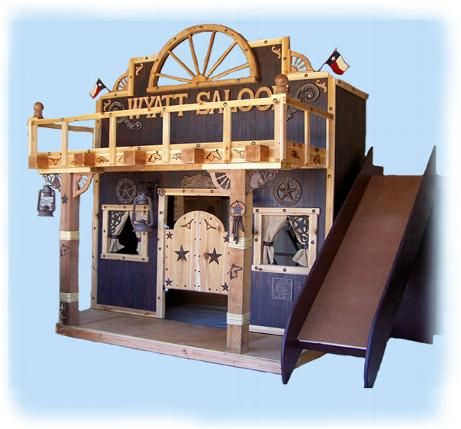 Western Saloon Cowboy Kids Bunk Bed Disney Themed Rooms And More