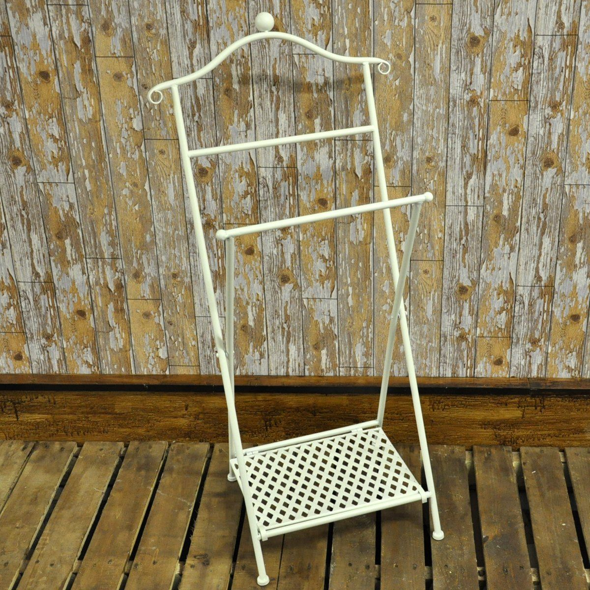 vintage style clothes rail uk, shabby chic french vintage style bathroom cream metal foldable towel, Design ideen