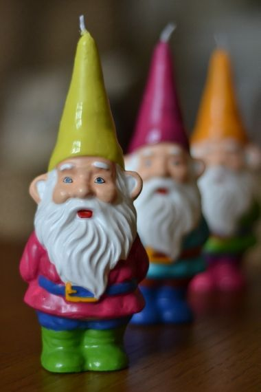 // gnome candles //