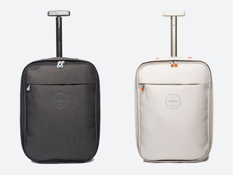 michael young: airbag carry-on luggage for zixag. the cabin-size ...