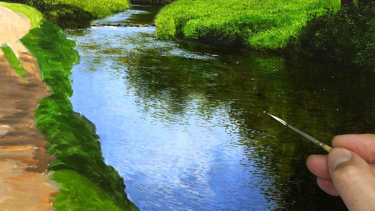 Painting A Landscape River Details Episode 139 Youtube Michael James Smith River Painting Landscape