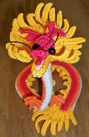 Crocheted Chinese Dragon (all the way from China!)   Chinese New ...