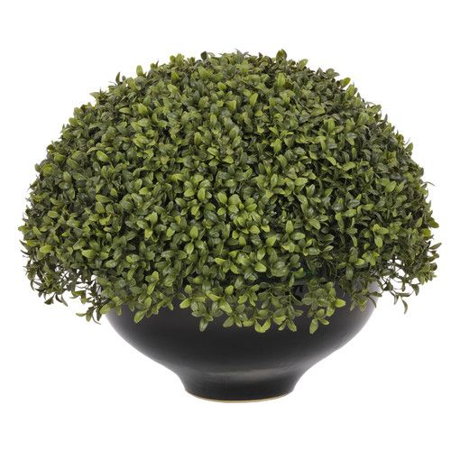 House of silk flowers inc artificial boxwood topiary in pot house of silk flowers inc artificial boxwood topiary in pot mightylinksfo