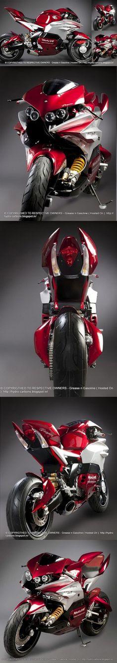 Dragon TT Atila 1000 R Concept Motorcycle - way2speed