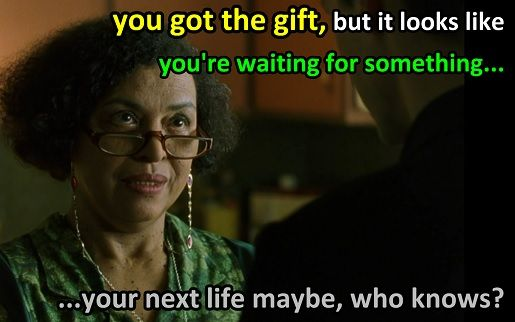 Important quotes from the Matrix youve got the #gift