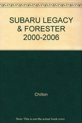 Subaru Legacy  U0026 Forester 2000