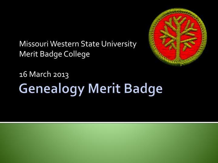 Genealogy Merit Badge | Merit badge, Genealogy and Badges