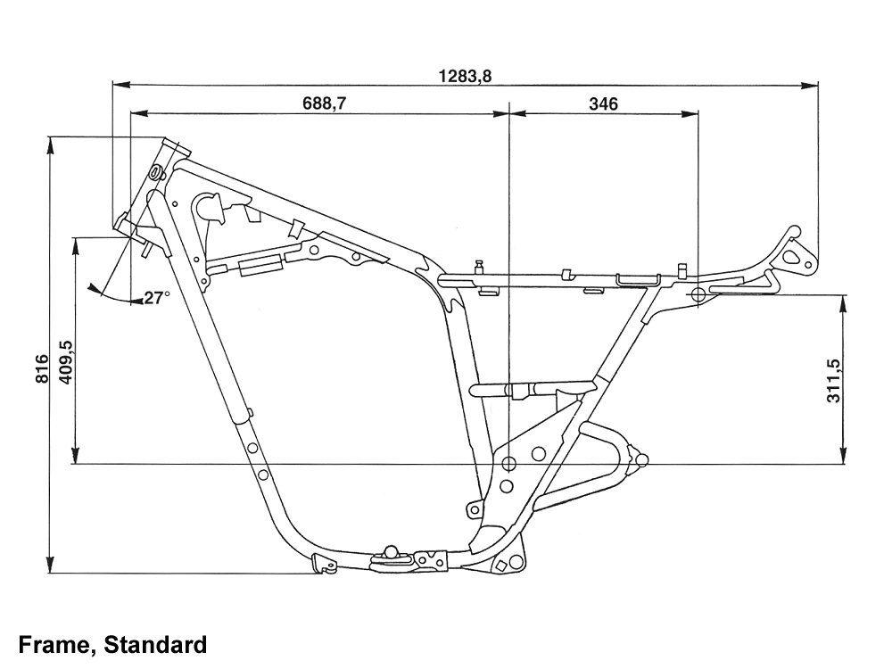 Yamaha XS650 197479 Standard Frame Size | My XS 650 Build | Pinterest | Bobbers, Scrambler and