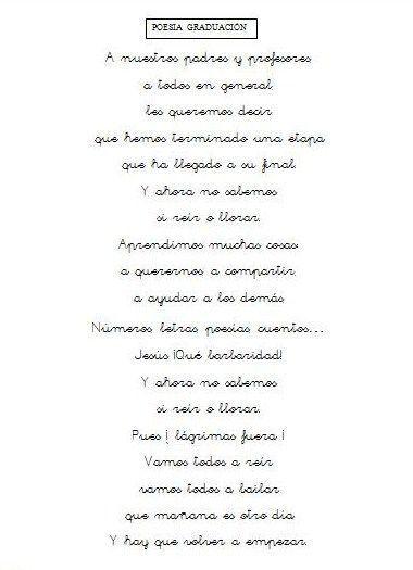 Poemas De Despedida De Fin De Curso De Primaria Geli Cano Dual Language Classroom School Activities End Of Year