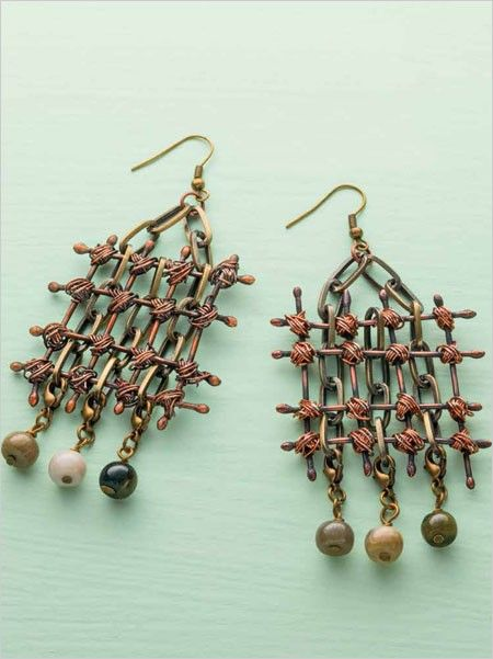 Stand Out Designs Jewelry : Don't be fooled by the look of these earrings they're