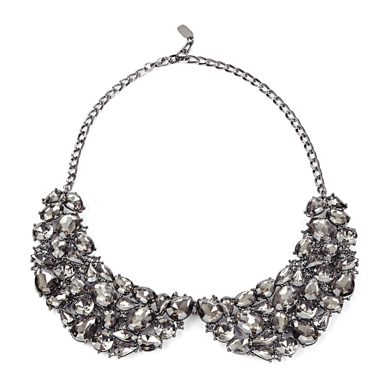 Sole Society Womens Over Statement Bib Necklace In Color: Black One Size From Sole Society 2mUFn