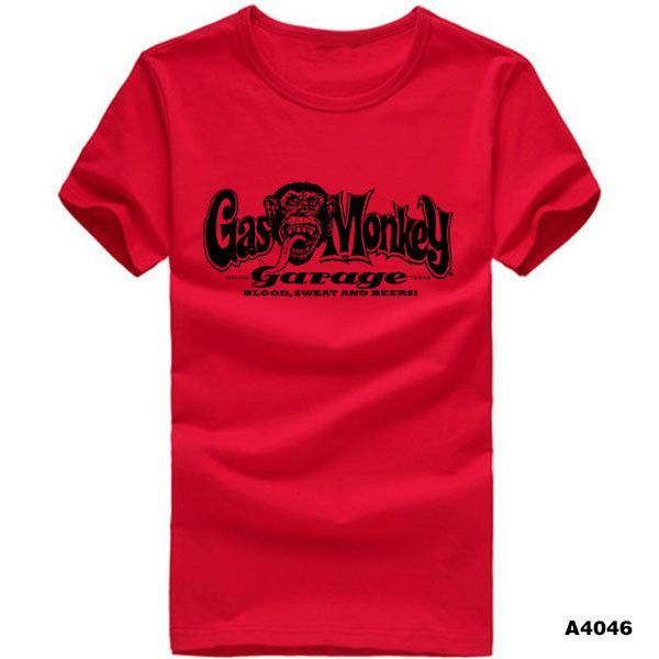 Printed Gas Monkey Garage T-Shirt