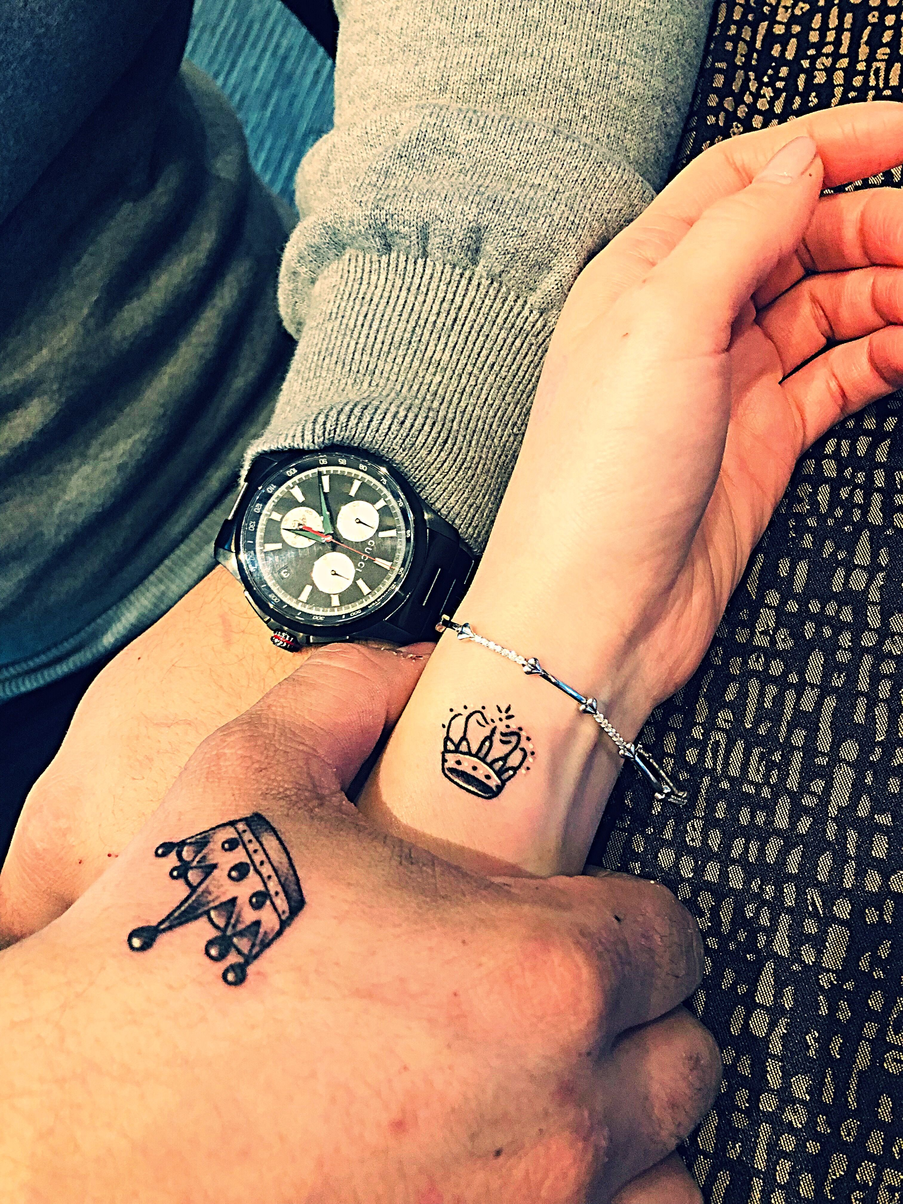 King And Queen Tattoo Queen Tattoo Couple Tattoos King Queen