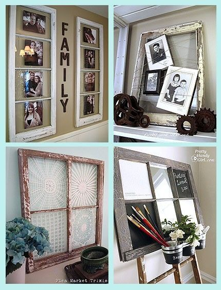 decorating with old windows decorating with old windows Craft