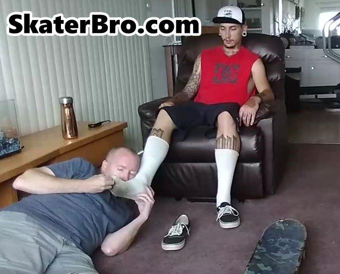 Gay foot master