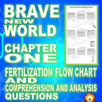 Brave New World Chapter 1 Fertilization Flow Chart and Questions