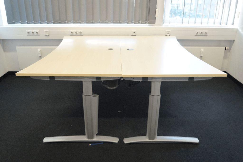 Schreibtisch, Cockpitform, Hersteller: Wini Büromöbel, Modell: Winea ...