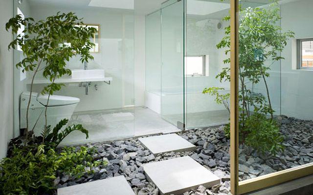 Viviendas con jard n interior dise o de jardines - Diseno de jardines interiores ...