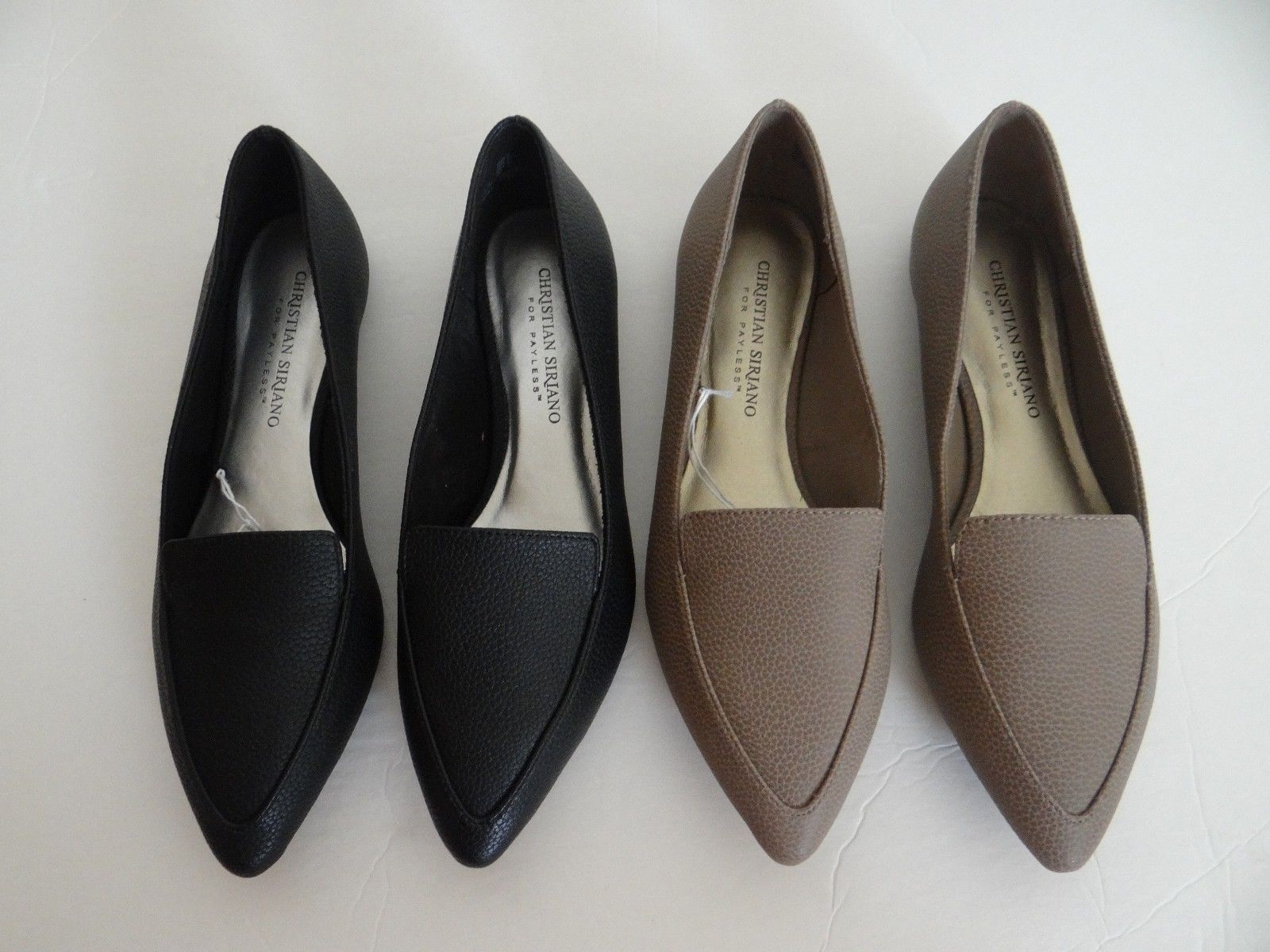 Flats Shoes Black Taupe
