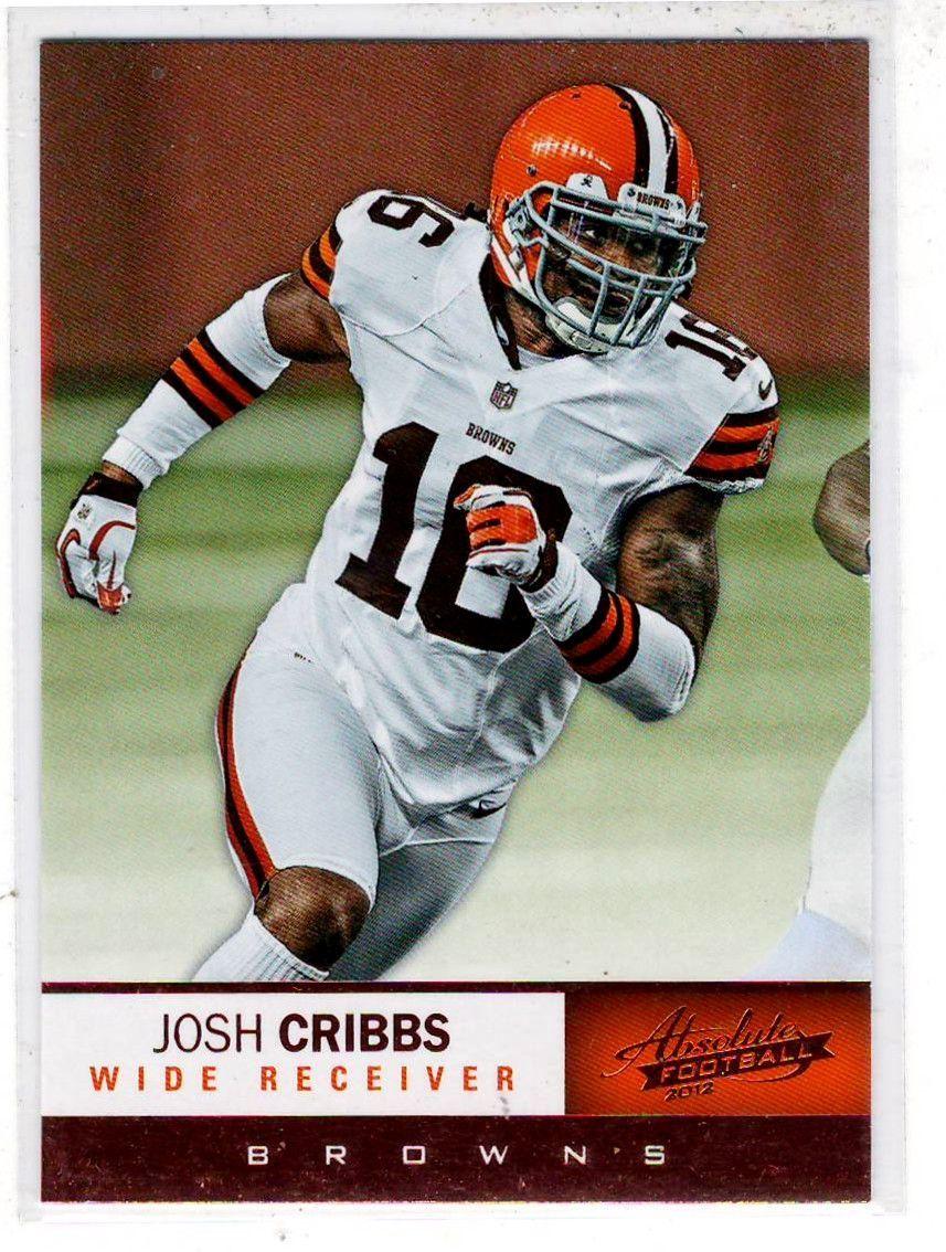 Sports Cards - 2012 Panini Absolute Football Josh Cribbs
