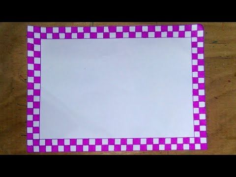 compilation of most beautiful and easy border designs for school project file part youtube also rh pinterest