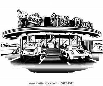 Vintage coloring pages 1950s ~ Image result for 50s Diner Coloring Pages | Valentines ...