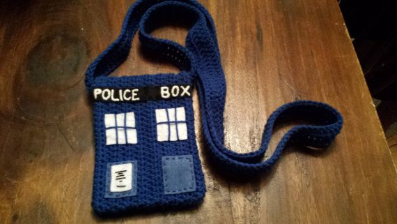 Dr.Who Tardis Inspired side bag crochet!!!! | häkeln | Pinterest ...