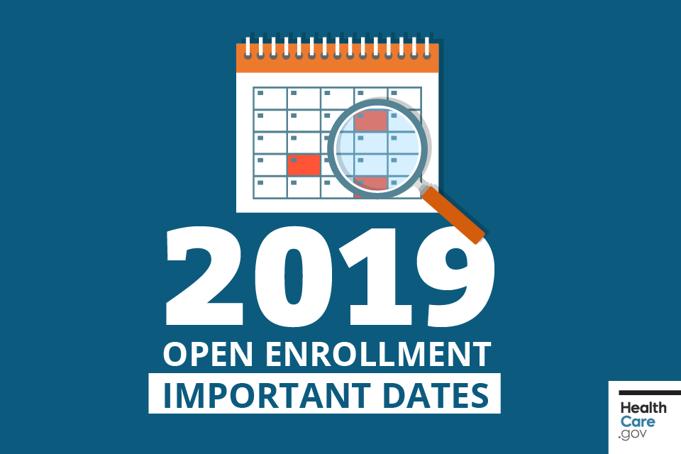 Open Enrollment For 2019 Marketplace Coverage Is A Few Months Away