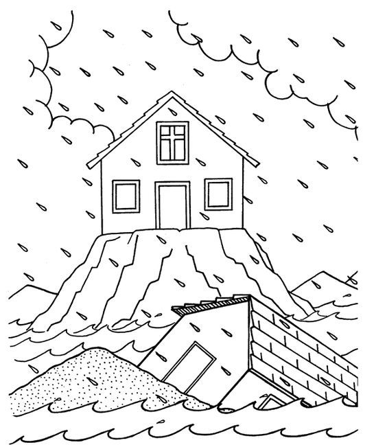 Wise or Foolish? Coloring Page from Calvary Chapel