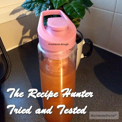 Detox drinks has been trending for a couple of years now. This recipe is a tweaked version.