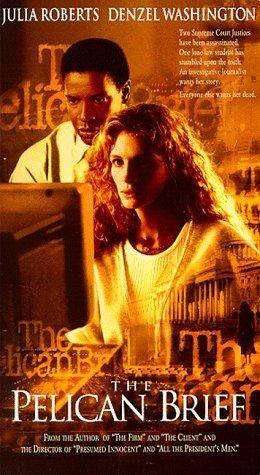 The Pelican Brief Starring Julia Roberts Denzel Washington Sam