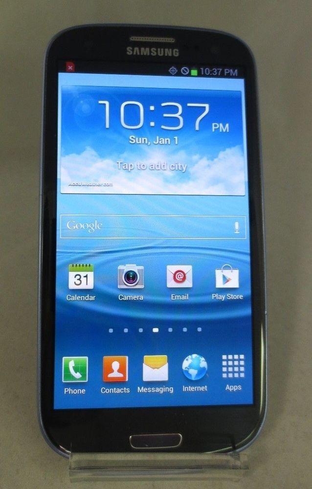 Samsung Galaxy S III SCHI535 16GB Blue Verizon Good