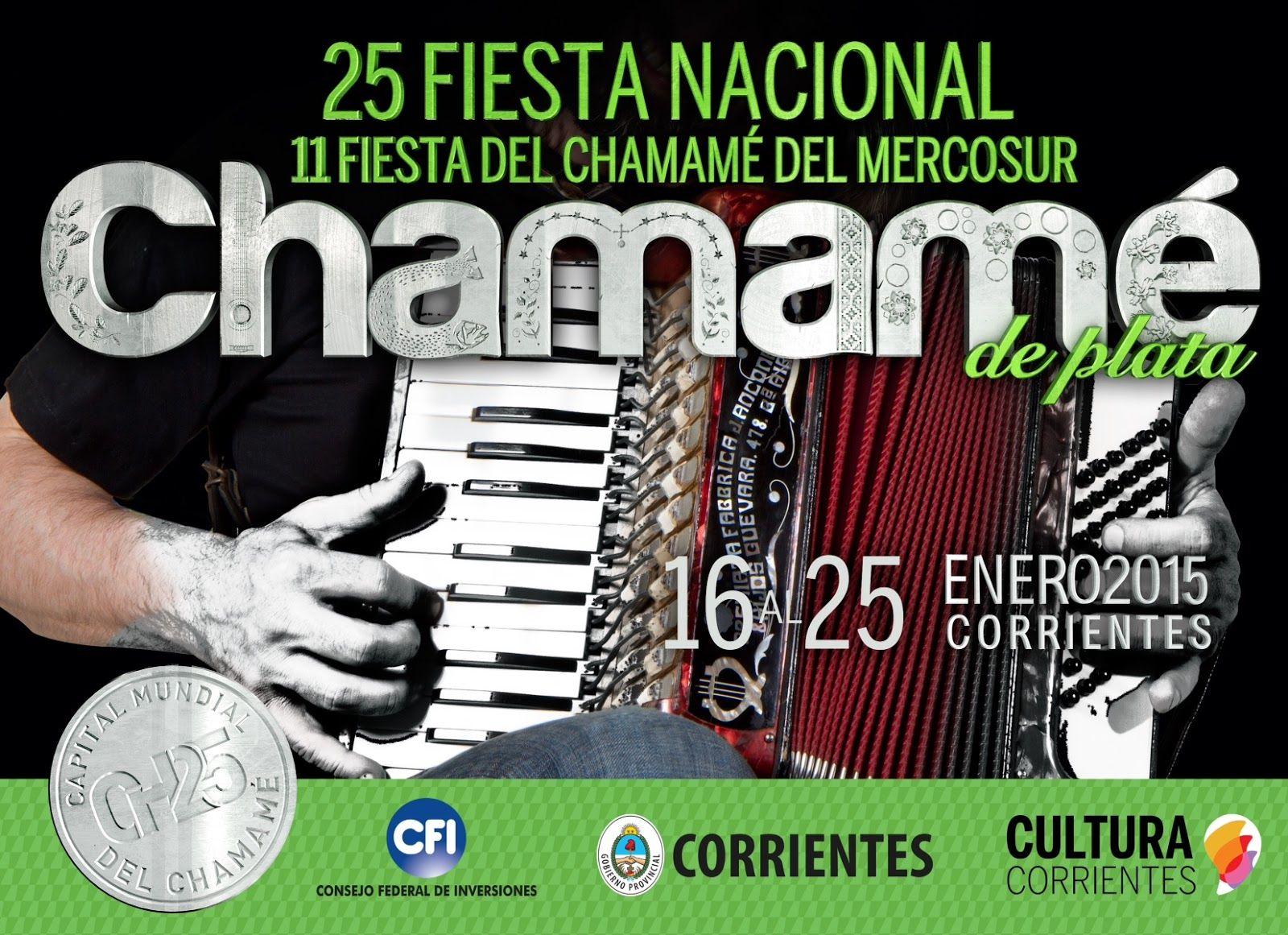 LA IMAGEN DE LA FIESTA: Camino a la 25ª Fiesta Nacional, el chamamé es de plata #VamosParaAdelante