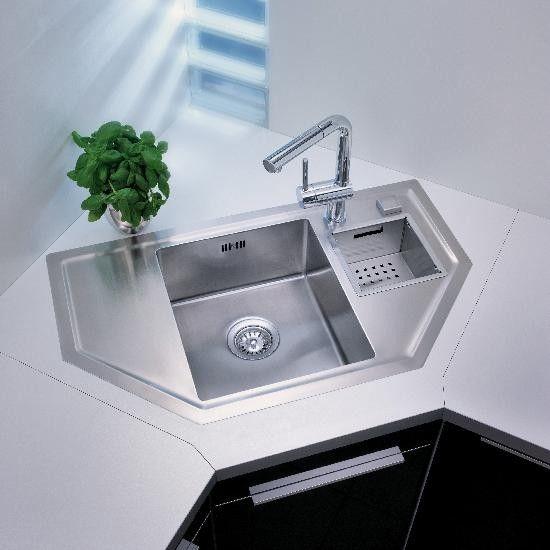 Teka Küchen-Spüle Radea 60 EF-CN Küchen-Spülen Edelstahl für 60cm - unterschrank küche 60 cm