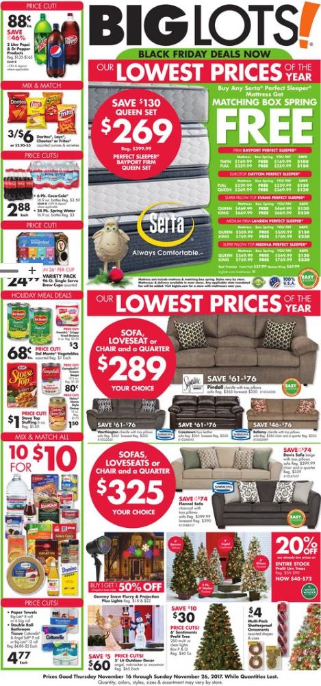 Big Lots Ad January 6