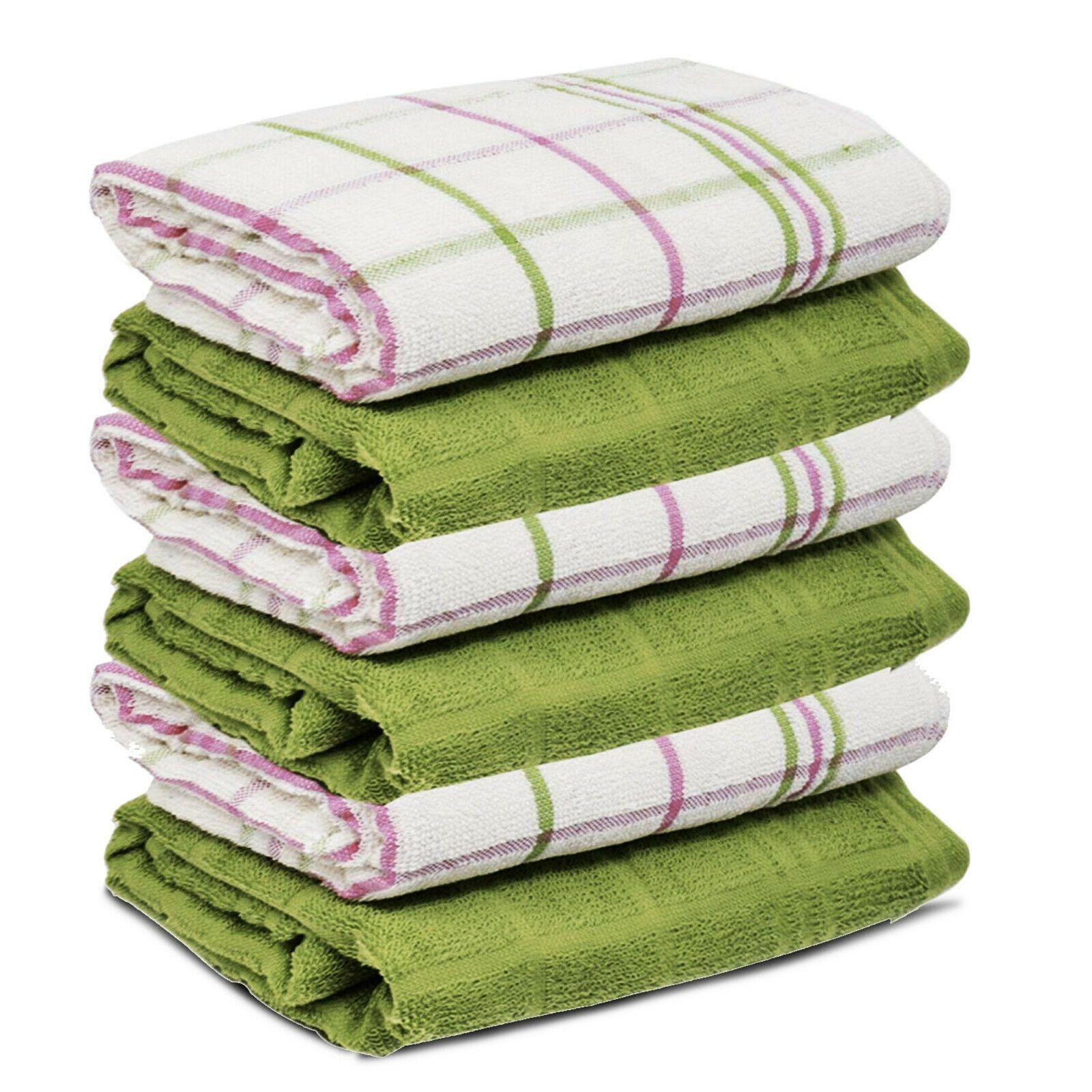 50x Dish Cloths Wash Towel Absorbent Dishcloth Kitchen Dish Towels Dish Rags