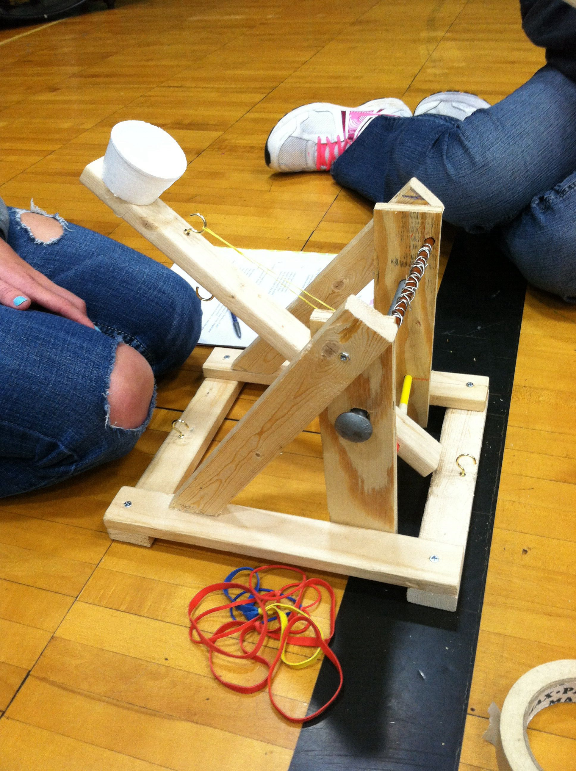 Catapult Simple machine projects, Catapult project