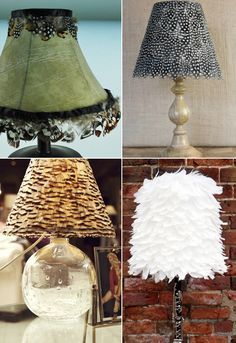Cool Lamp Shade Ideas Lamp Shades Lampshade Makeover Lamp