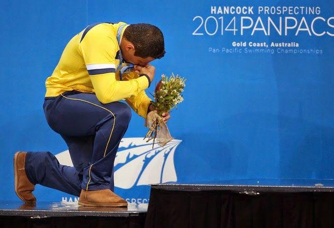 Blog Esportivo do Suíço: Felipe França é prata nos 100m peito no Pan-Pacífico