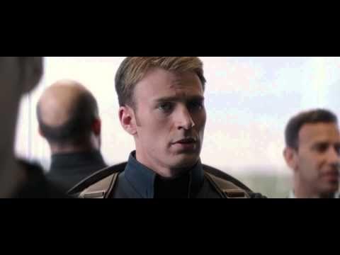 Capitan America y El Soldado de invierno (escena elevador ...